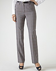 Gardeur Slim Fit Check Trousers 77cm