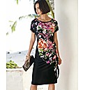 Pomodoro Multi Floral Print Dress