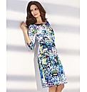 Basler Multi Digital Print Dress