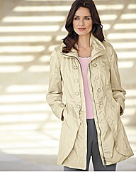 Creenstone Zip Up Rain Coat