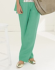 Lebek Crinkle Straight Trousers