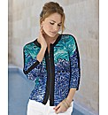 Joseph Ribkoff Dapple Print Jacket