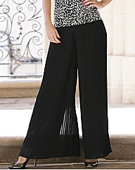 Gina Bacconi Layered Pleated Trousers