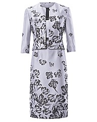 Gina Bacconi Jacquard Dress & Jacket