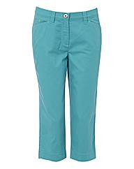 Michele Stretch Crop Trousers