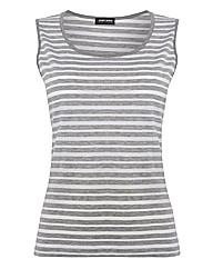 Gerry Weber Stripe Jersey Sleeveless Top