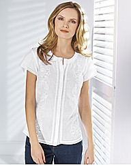 Gerry Weber Cotton Embroided Shirt