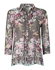 Gerry Weber Floral Silk Blouse