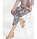 Gerry Weber Floral Print Crop Trousers