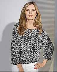 Gerry Weber Geometric Gypsy Blouse