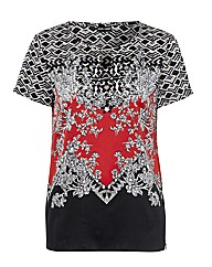Gerry Weber Multi Print Silk Top