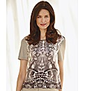 Gerry Weber Abstract Printed Jersey Top