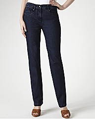 Zaffiri Straight Leg Denim Jeans