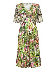 Rabe Multi-print Jersey Dress