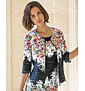 Joseph Ribkoff Cascade Floral Jacket
