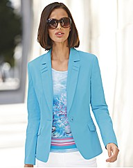 Basler Cotton Blazer