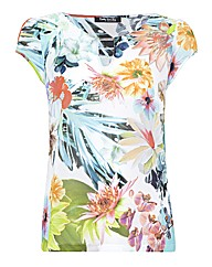 Betty Barclay Georgette Floral Top