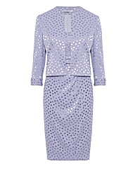 Gina Bacconi Spot Dress & Jacket