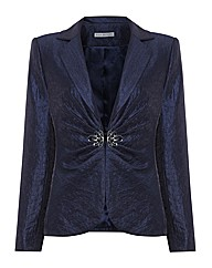 Gina Bacconi Long Sleeve Shimmer Jacket