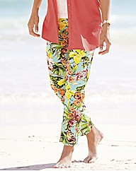 Betty Barclay Tropical Floral Trousers
