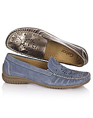 Gabor Decorative Cut Out Loafer