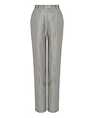 Eugen Klein Linen Mix Wide Leg Trousers