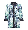 Gray & Osbourn Leaf Printed Over Shirt