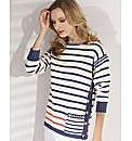 Alice Collins Knitted Stripe Jumper