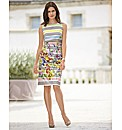 Gelco Multi Stripe Shift Dress