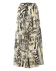 Gelco Printed Georgette Skirt