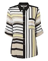 Gelco Silky Stripe Blouse