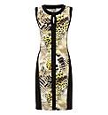 Gelco Jersey Panel Dress