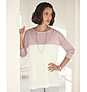 Gray & Osbourn Colour Block Jumper
