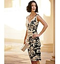 Gina Bacconi Mid Length Floral Dress