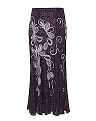 Chesca Lace & Cornelli Maxi Skirt