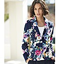 Gray & Osbourn Floral Spot Print Jacket