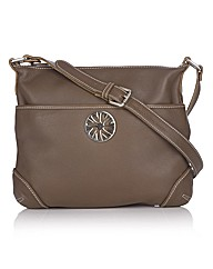 Van Dal Shoulder Bag With Metal Trim