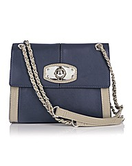 Jane Shilton Flapover Chain Strap Bag