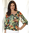 Gerry Weber Orchid Chiffon Blouse
