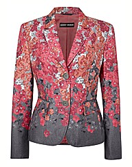 Gerry Weber Floral Print 2 Button Blazer