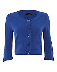 Betty Barclay Crop Jersey Blazer