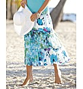 Gerry Weber Floral Tiered Long Skirt