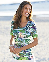 Gerry Weber Hummingbird Print Top