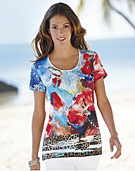 Gerry Weber Floral Print Poppy Top