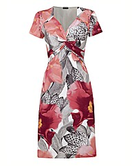 Gerry Weber Silky Print Jersey Dress