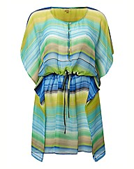 Echo Carribean Striped Kaftan