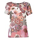Gerry Weber Floral Short Sleeve Blouse