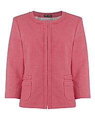 Gerry Weber 3/4 Sleeve Textured Jacket