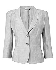 Gerry Weber Linen Mix Tailored Jacket
