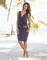 Rosa Faia Jersey Beach Dress